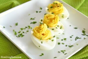 Easy Deviled Eggs Appetizer