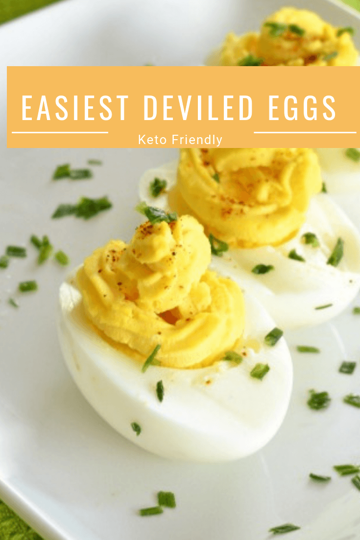 Keto Friendly Deviled Eggs Recipe