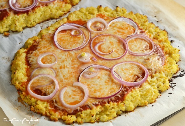 Keto Cauliflower Crust