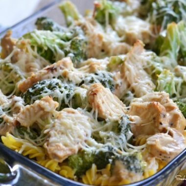 Chicken and Broccoli Pasta Casserole