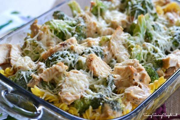Creamy Parmesan Chicken and Broccoli Casserole - Sizzling Eats