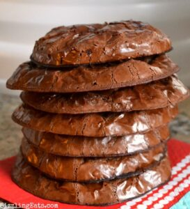 Flour Free Chocolate Brownie Cookies