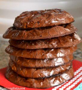 Flour Free Chocolate Brownie Cookies