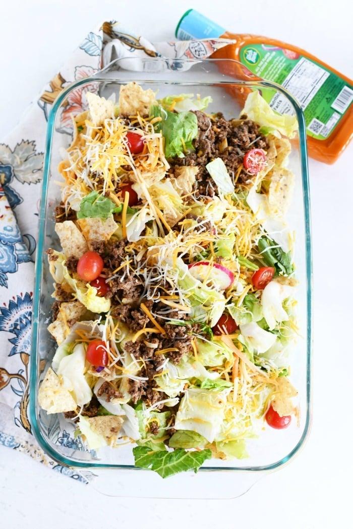 Taco Salad dinner