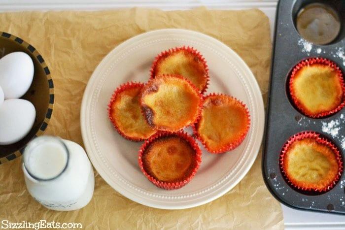 Queijadas de Leite recipe. A delicious Portuguese Egg and Milk Cupcake.
