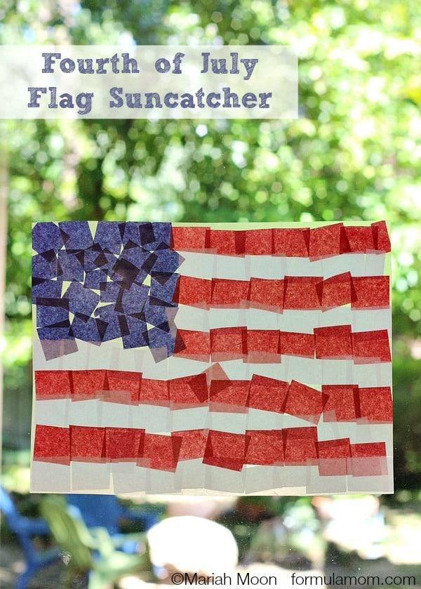 Fourth-of-July-Crafts-Tissue-Paper-Flag-Suncatcher-vert