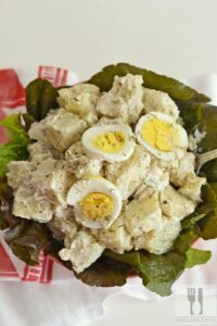 Quick and Easy Ranch Potato Salad with Eggs