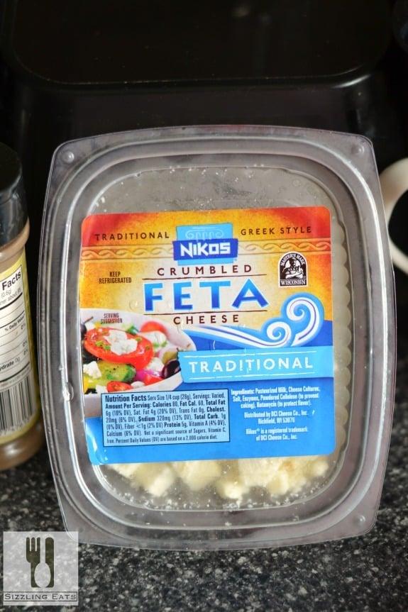 Greek Pasta Salad with Feta & Sausage - Sizzling Eats