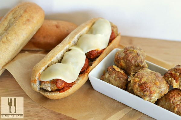 Turkey-meatball-subs-with-cheese