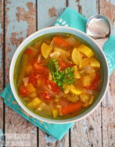 Easy Summer Vegetable Soup