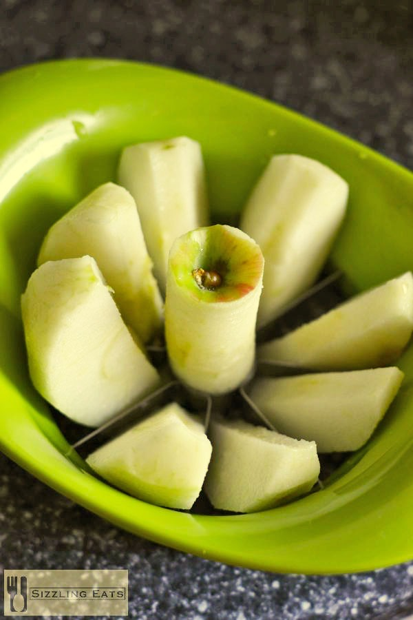 Cored-apple