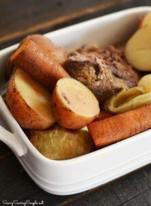 Pot Roast and Veggies in the Crock Pot