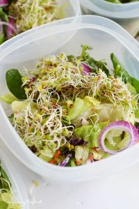Healthy Lunch Idea & New Rubbermaid Easy Find Lids™