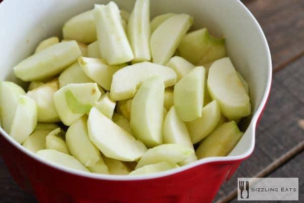 apple-wedges