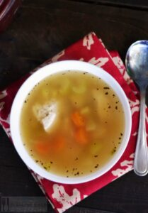 Easy Chicken Soup with a Twist