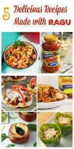 5 Delicious Recipes Made with Ragu Pasta Sauce