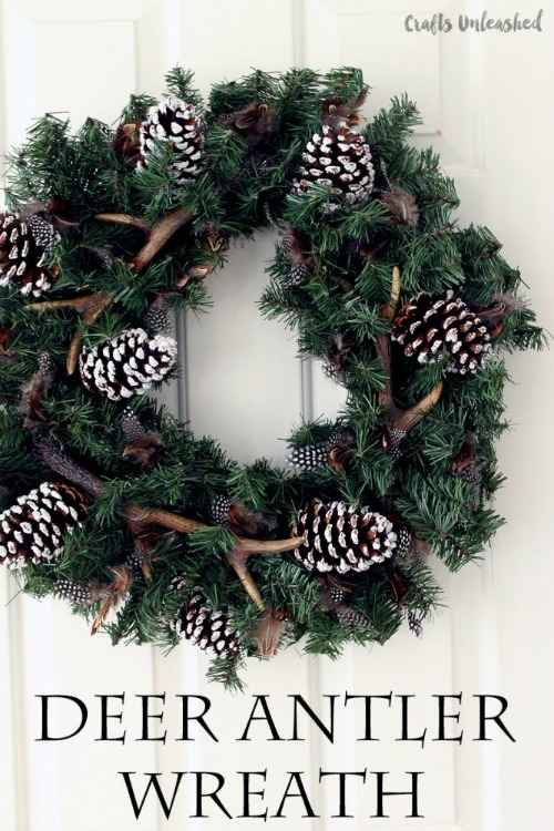 DIY-winter-wreath-deer-antler-wreath