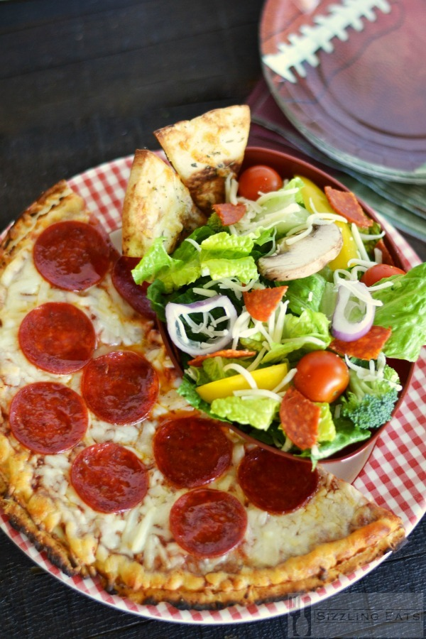 Pizza-and-salad