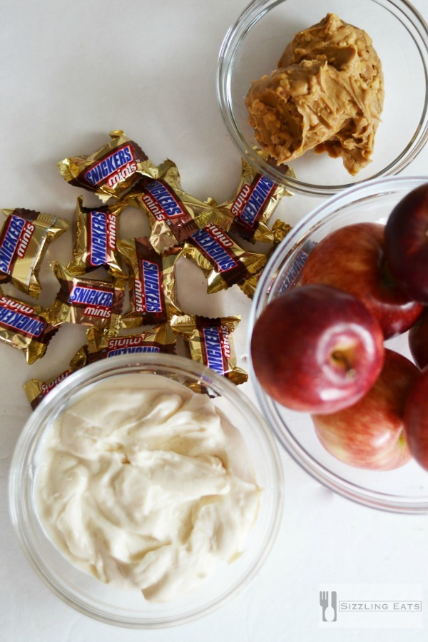 Snickers-dip