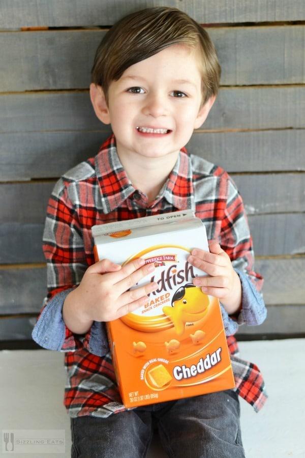 Blake-with-goldfish