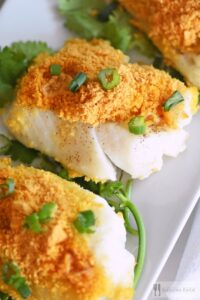 Goldfish® Cracker Crusted Baked Cod