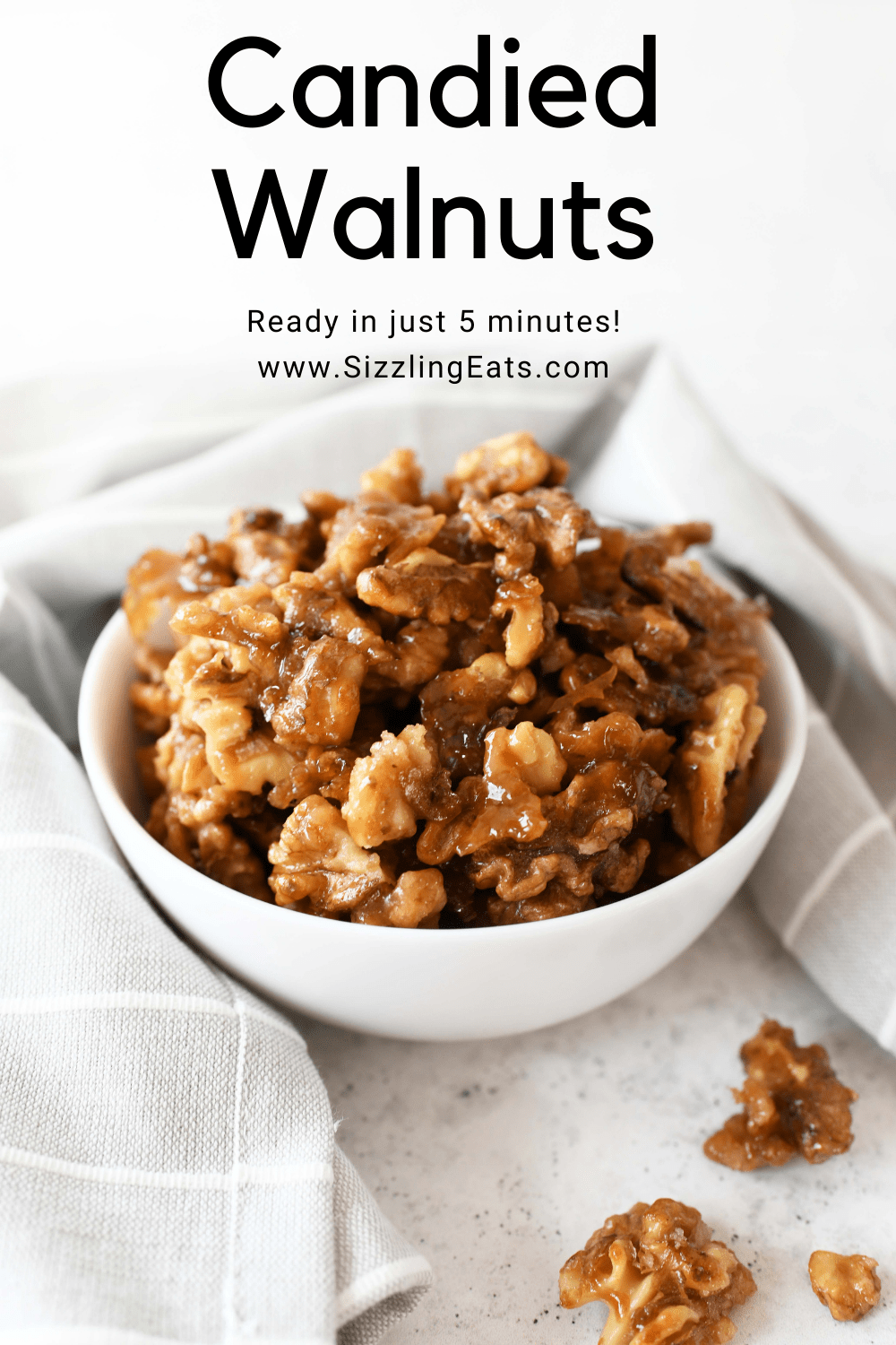 How to Make Candied Walnuts in 5 Minutes