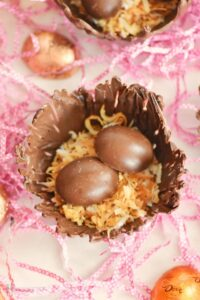 Chocolate Bird's Nests & Easter Basket Stuffers