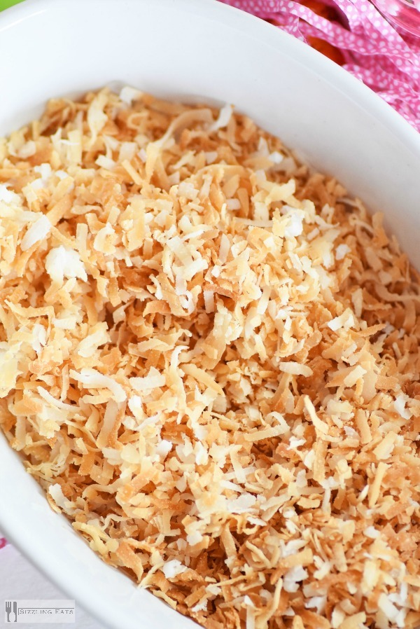 Toasted-coconut