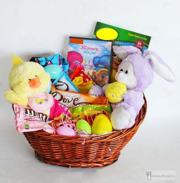 Chocolate birds nests easter basket stuffers wrigley easter basket diy negle Image collections