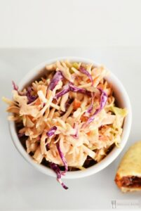 Sriracha Cole Slaw & Some Meatless Lunch Ideas