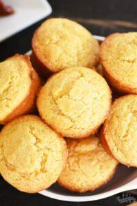 Honey Corn Muffins Recipe