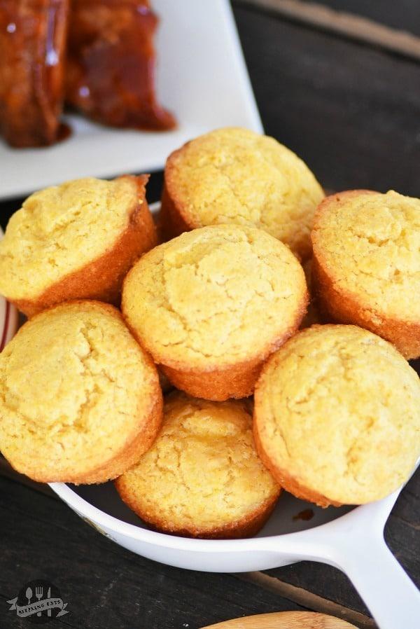 Honey-corn-muffins