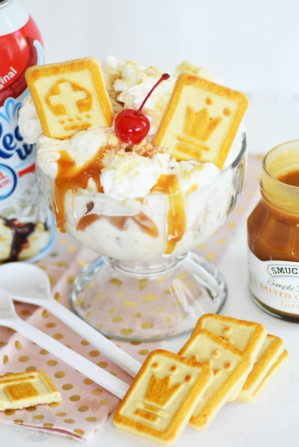 Caramel-Cookie-Sundae