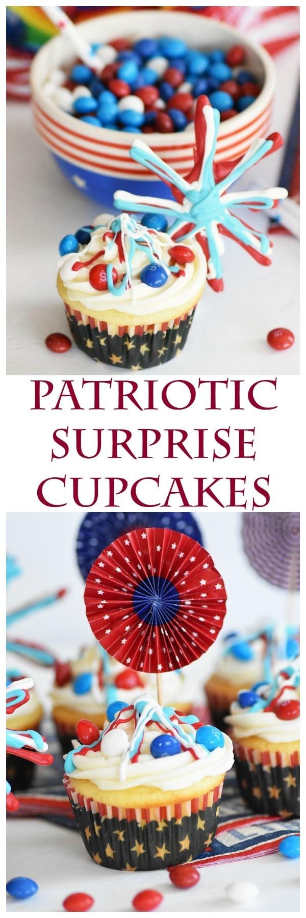 Patriotic-Surprise-cupcakes