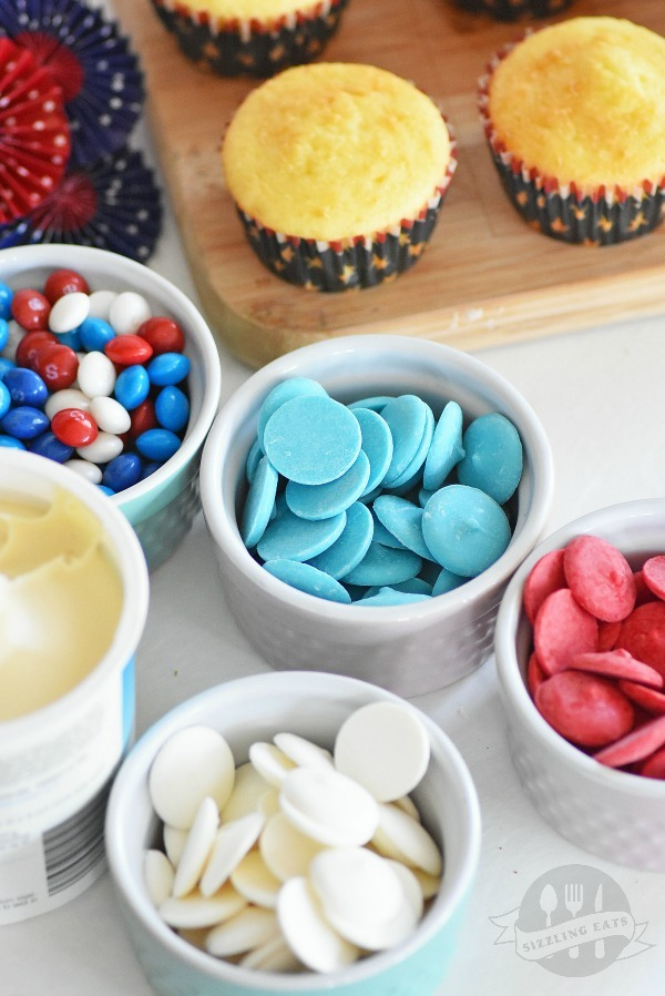 Patriotic-cupcakes-ingredients
