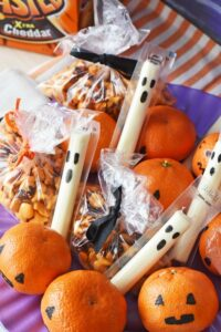 Non-Candy Halloween Lunchbox Snacks