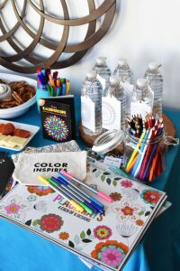 Adult Coloring Book Party Ideas