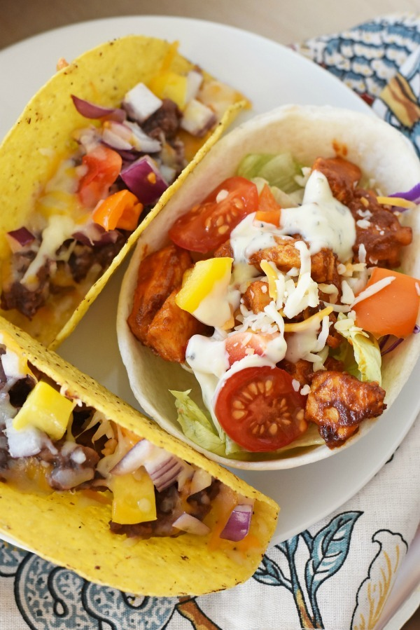taco-boats-and-bean-tacos