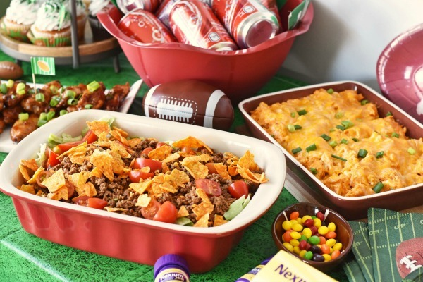 football-foods-party-idea
