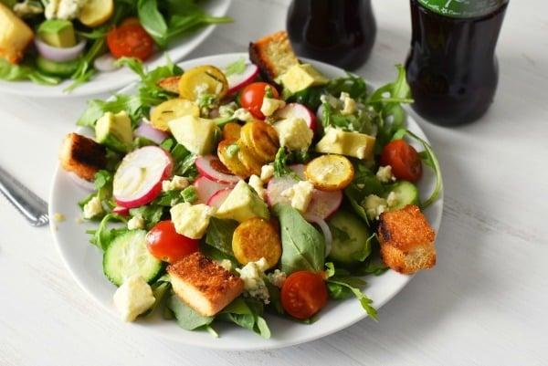 arugula-garganzola-salad