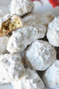 Swedish Heirloom Cookies with Walnuts