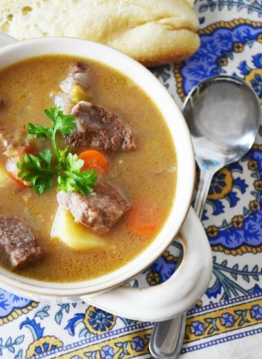 Stove top beef stew
