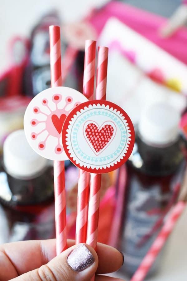 heart-straws