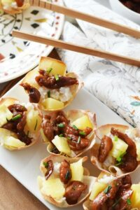 teriyaki-chicken-wonton-cups