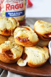 Pepperoni & Cheese Pizza Bombs