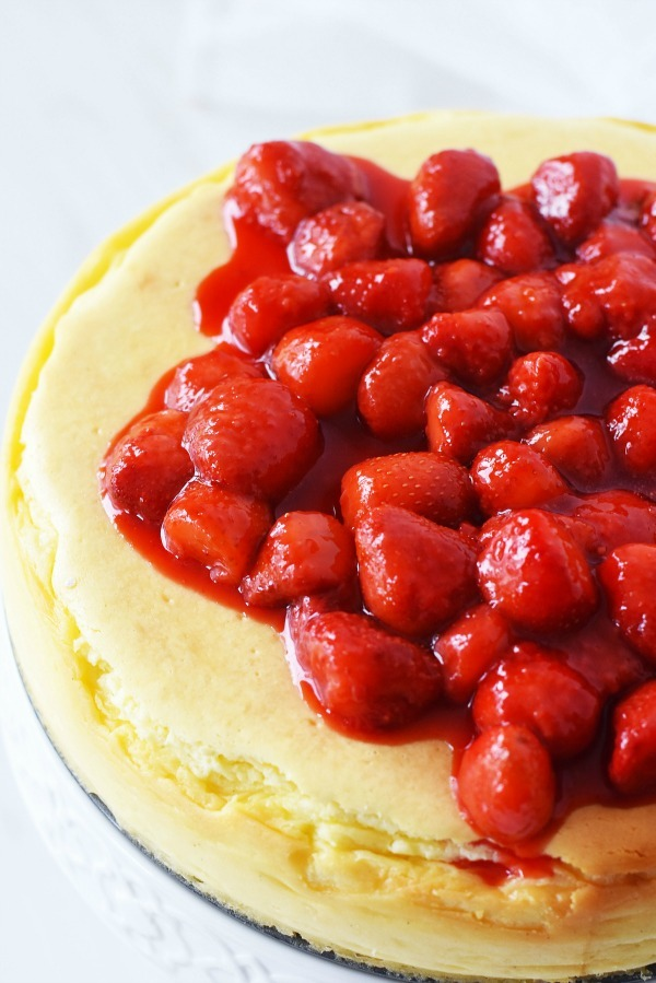 Crustless Cheesecake Recipe Fluffy Creamy And Simply