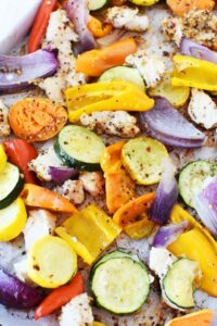 Daniel Plan Sheet Pan Chicken and Vegetables1