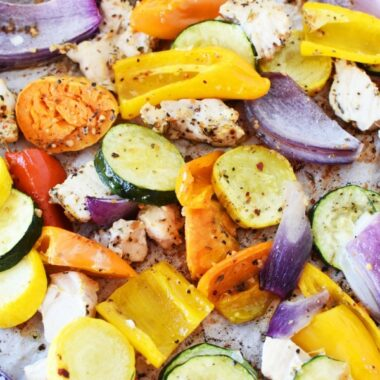 Daniel Plan Sheet Pan Chicken and Vegetables1