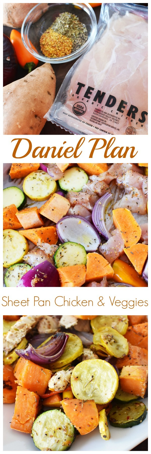 Daniel Plan Sheet Pan Chicken & Vegetables