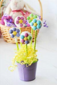 Easy Flower Cake Pops